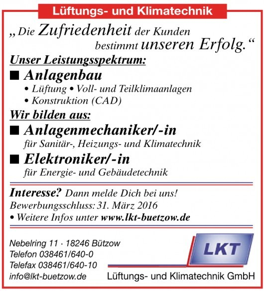 Lüftungs- und Klimatechnik GmbH