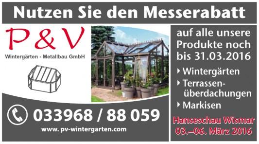 P&V Wintergärten- Metallbau GmbH