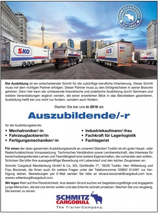 Schmitz Cargobull Mecklenburg GmbH & Co. KG