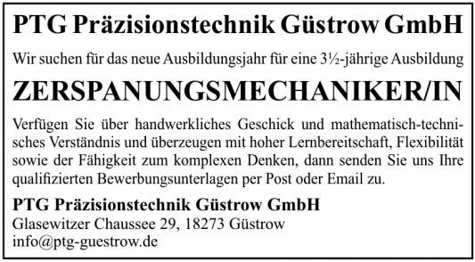 PTG Präzisionstechnik Güstrow GmbH