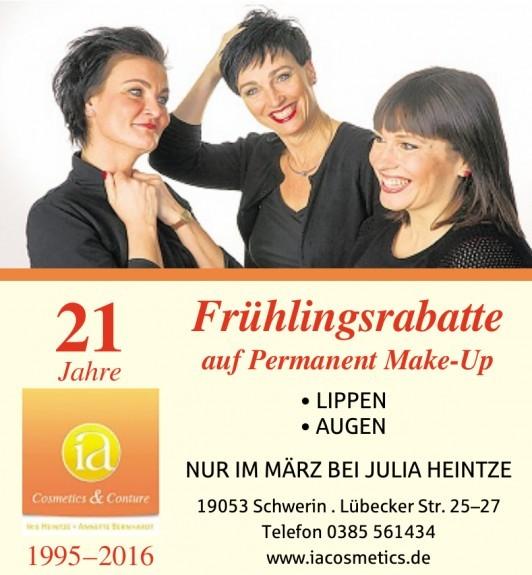 i&a - Cosmetics & Conture