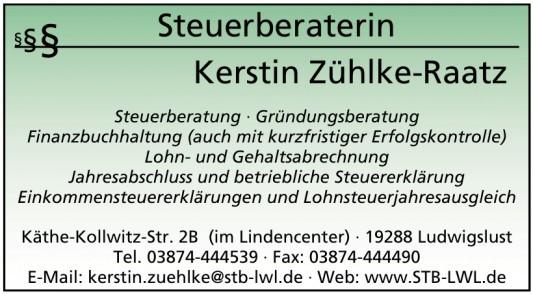 Steuerberaterin - Kerstin Zühlke-Raatz
