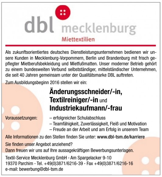 Textil-Service Mecklenburg GmbH